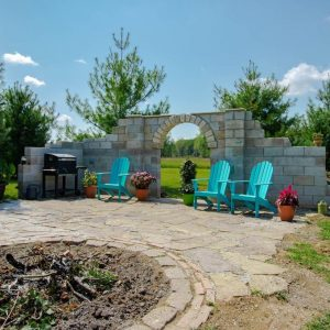 DIY Roman Arched Wall