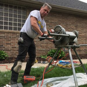 Professional Plumber & Master Gas Fitter Eric Gasa
