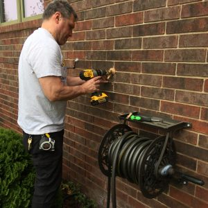 replacing hose bib damaged by freezing